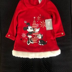 ❤️🖤 Disney Holiday Minnie Mouse Outfit 🖤❤️